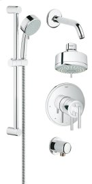 GrohFlex Shower Set Pressure Balance Valve Product Image