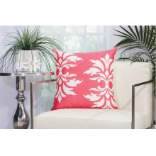 "Outdoor Pillow As065 Hot Pink 20"" X 20"" Throw Pillow"