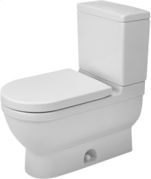 White Starck 3 Two-piece Toilet