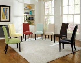 Semi Pu Brown Parson's Chair
