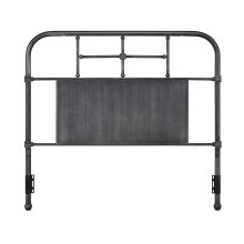 Cheriton Headboard - Full, Antique Black Finish