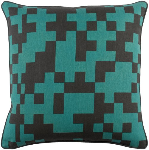 "Inga INGA-7019 18"" x 18"" Pillow Shell with Polyester Insert"