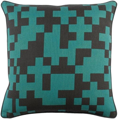 "Inga INGA-7019 18"" x 18"" Pillow Shell with Down Insert"