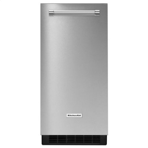 KitchenAid® 15'' Automatic Ice Maker with PrintShield™ Finish - PrintShield Stainless