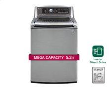 5.2 cu.ft. MEGA Capacity TurboWash Washer with Steam