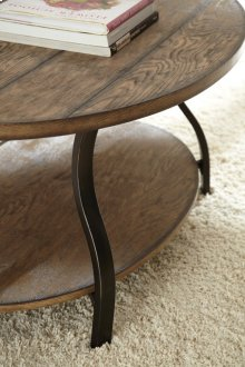 """Denise Oval Cocktail Table, 47"""" x 31"""" x 21"""""""