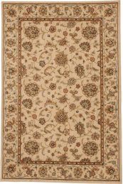 HARD TO FIND SIZES SULTANA SU01 IVORY RECTANGLE RUG 4'6'' x 6'10''