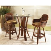 Moroccan Bar Stool w/Arm
