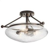 Belle 3 Light Semi Flush Olde Bronze®