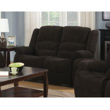 Gordon Chocolate Reclining Loveseat