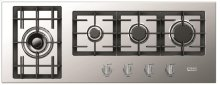 "Stainless Steel 42"" Gas Cooktop - Designer Series"