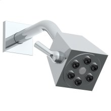"Wall Mounted Showerhead, 2 3/4""dia, With 6"" Arm and Flange"