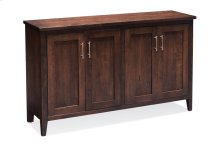 Crawford Credenza with Legs, Crawford Credenza with Legs, 60""