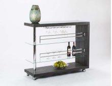 Bolero Charcoal/woodgrain Bar