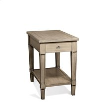 Parkdale Chairside Table Dove Grey finish