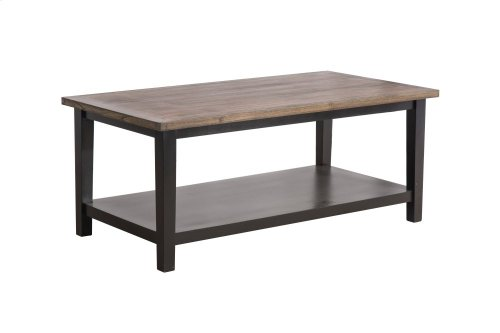 Coffee Table, Available in Black Teak or White Teak Finish.