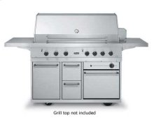 """Outdoor Range Grill Cart - BQCO (53"""" wide grill cart with oven (LP/Propane))"""