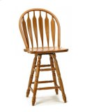 Classic Oak Wide Arrow Counter Stool Product Image