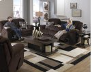 """Rocking"" Reclining Lvst - Beige Product Image"