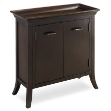 Traditional Cherry Tray Edge Foyer Cabinet #10129
