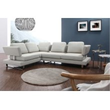 Divani Casa 0889 Modern Fabric Sectional Sofa