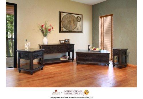 6 Drawer Sofa Table*