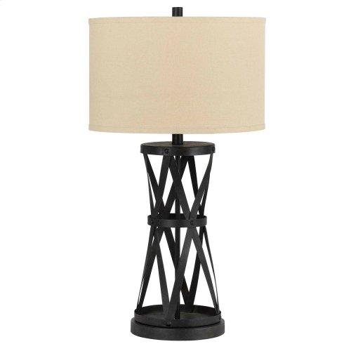 150W 3Way Passo Iron Table Lamp