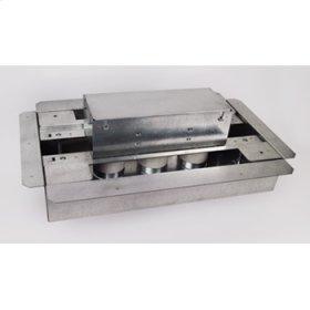 8803S-FC Omnibox Series Fire Classified 3-Gang Floor Box