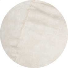 Cover for Pillow Pod or Footstool - Faux Leather - Ivory