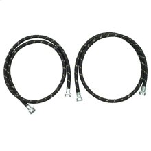 5' Nylon Braided Washer Hose - 2 Pack