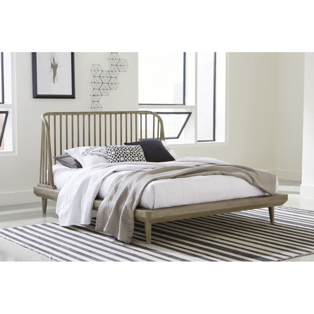 Spindle Full Platform Bed