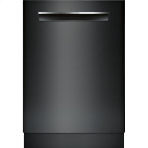 "Bosch24"" Pocket Handle Dishwasher 500 Series- Black SHP65TL6UC"