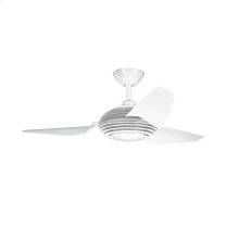 Voya Collection 50 Inch Voya Fan WHT