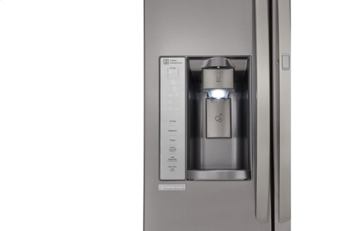 LG Black Stainless Steel Series 26 cu. ft. Ultra Capacity Side-By-Side Refrigerator w/ Door-in-Door®