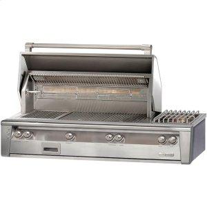 "Alfresco56"" Standard Grill with Side Burner Built-In"
