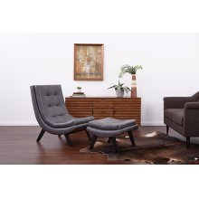 Tustin Lounge Chair With Ottoman