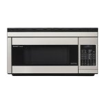 SharpSharp Carousel Over-the-Range Microwave Oven 1.1 cu. ft. 850W Stainless Steel