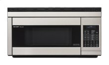 1.1 cu. ft. 850W Sharp Stainless Steel Over-the-Range Carousel Microwave Oven (R-1874)