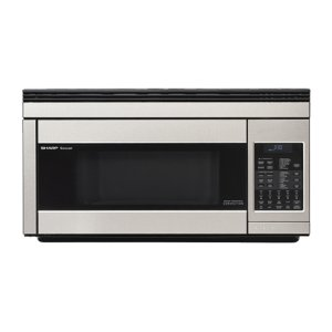 Sharp Appliances1.1 cu. ft. 850W Sharp Stainless Steel Over-the-Range Carousel Microwave Oven