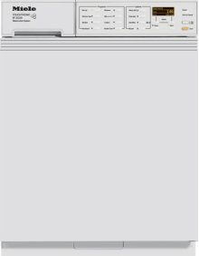 European Standard Capacity W3039 i Washing Machine - Large Capacity Integrated