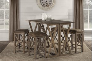 Willow Bend Flip Top Dining - 5pc Set