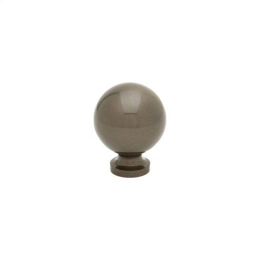 """1 1/4"""" Knob - Oil Rubbed Bronze"""