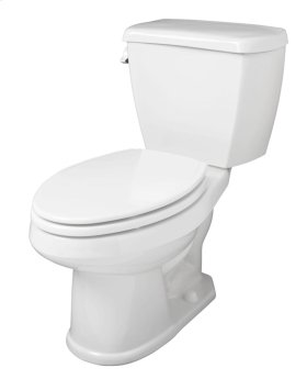 """White Avalanche® 1.6 Gpf 12"""" Rough-in Two-piece Elongated Toilet"""