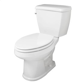 "Biscuit Avalanche® 1.6 Gpf 12"" Rough-in Two-piece Elongated Toilet"