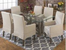872-78b + 78g + 4 147kd Parson Chairs