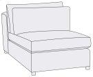 Como Armless Chair Product Image