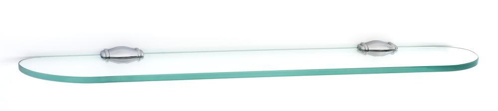 Charlie's Collection Glass Shelf A6750-24 - Polished Chrome