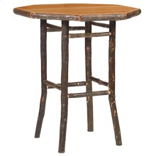 Round Pub Table - 32-inch - Natural Hickory