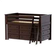 Twin Loft   Dresser   Dresser Espresso