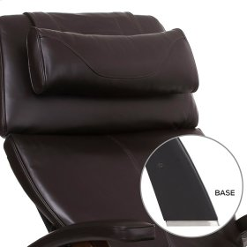 Perfect Chair PC-600 Omni-Motion Silhouette - Espresso Premium Leather - Matte Black